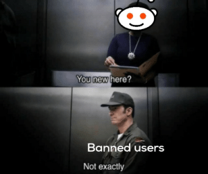 Not exactly: You new here?  Banned users  Not exactly Not exactly