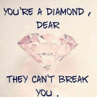 We are bad ass! 💎 InternationalWomensDay 👸🏻👸🏾👸🏿👸🏼🔥 UNBREAKABLE: you RE A DIAMOND  DEAR  THEY CANT BREAK  YOU We are bad ass! 💎 InternationalWomensDay 👸🏻👸🏾👸🏿👸🏼🔥 UNBREAKABLE