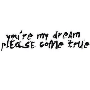 True, Net, and Dream: you re my dreAm  plEaSE coMe true https://iglovequotes.net/