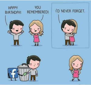 Facebook is clutch: YOU  REMEMBERED!  HAPPY  BIRTHDAY!  ID NEVER FORGET. Facebook is clutch