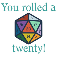 Birthday, Party, and Tumblr: You rolled a  20  twenty rainbow-beaniegirl: shitposting-hobbits-to-gallifrey:  dovewithscales:  stickerstory: Reblog and you're guaranteed to be successful at whatever you do next!  Can't hurt. Here's hoping for an awesome birthday party.    Hey maybe I can get my homework done!   Fingers crossed on my piano performance tmrw!