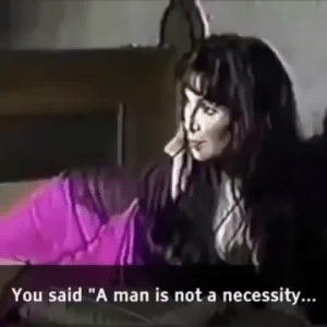 "Cher, Tumblr, and Blog: You said ""A man is not a necessity. unclefather:Cher destroying gender"