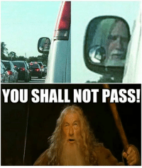 Cars, You Shall Not Pass, and Let Me: YOU SHALL NOT PASS! He didn't let me pass. Car memes