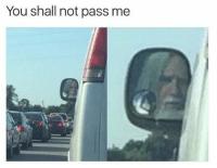 Memes, 🤖, and You Shall Not Pass: You shall not pass me You shall not pass! (@dabmoms)