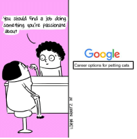 i'm overqualified tbh // BuzzFeed Comics: you should find a job doing  something you're passionate  about  Google  Career options for petting cats i'm overqualified tbh // BuzzFeed Comics