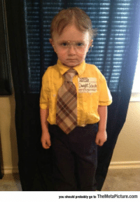 Tumblr, Dwight Schrute, and Blog: you should probably go to TheMetaPicture.com epicjohndoe:  Little Dwight Schrute