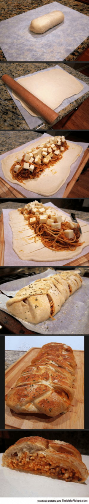 lolzandtrollz:  For Those Who Are Too Lazy To Dip Bread In Spaghetti: you should probably go to TheMetaPicture.com lolzandtrollz:  For Those Who Are Too Lazy To Dip Bread In Spaghetti
