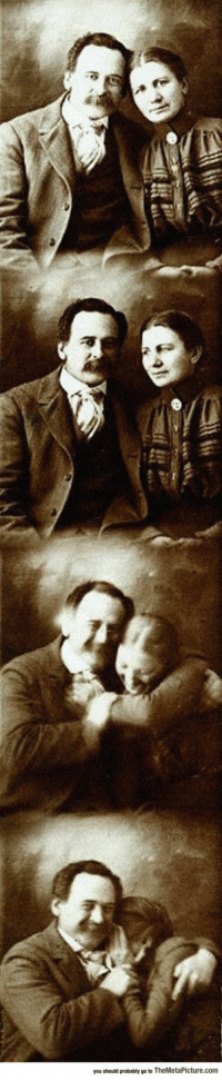 srsfunny:Victorian Couple Trying Not To Laugh While Getting Their Portraits Done: you should probably go to TheMetaPicture.com srsfunny:Victorian Couple Trying Not To Laugh While Getting Their Portraits Done