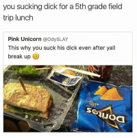 Rimjob = lunchables your choice: you sucking dick for a 5th grade field  trip lunch  Pink Unicorn  @OdysLAY  This why you suck his dick even after yall  break up  UJOa Rimjob = lunchables your choice