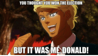 YOU THOUGHT YOU WON THE ELECTION  BUT IT WASME DONALD! @hillaryclinton anime otaku weeaboo hentai h3ntai hentairp h3ntairp ecchi 3cchi ecchirp 3cchirp furry yiff yiffrp clop mlp brony cloprp lgbt lgbtq blacklivesmatter makeamericagreatagain feminism proudfeminist videogames nerd idubbbz filthyfrank pewdiepie minecraft