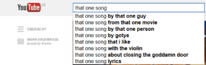 giveratmorehats:strider-gonnastride:thefuuuucomics:  that one song about closing the goddamn door  haven't you people ever heard of it  diD YOU JUST: You Tube  DE  that one song  that one song by that one guy  that one song from that one movie  that one song by that one person  that one song by gotye  that one song that i like  that one song with the violin  that one song about closing the goddamn door  that one song lyrics  ÜBERSICHT  MEHR ERGEBNISSE  jeopardy theme giveratmorehats:strider-gonnastride:thefuuuucomics:  that one song about closing the goddamn door  haven't you people ever heard of it  diD YOU JUST