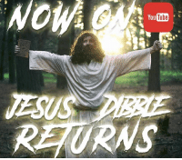 Jesus, Memes, and youtube.com: You  Tube  JESUS  URNS jesus dibble has returned now on youtube marcusdibblecomedy hes back with a vengeance lick my flaps