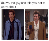 "Memes, 🤖, and Kramer: You vs. the guy she told you not to  worry about ""I'm Kramer."""