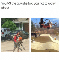 Memes, 🤖, and She: You VS the guy she told you not to worry  about