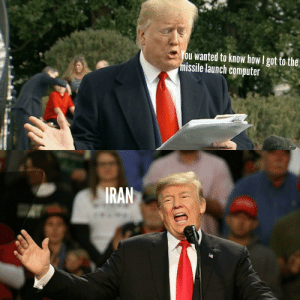 The obvious isn't so obvious: You wanted to know how I got to the  missile launch computer  IRAN The obvious isn't so obvious