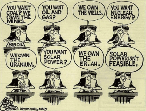 Energy, Funny, and Power: YOU WANTYOU WANT  COAL?WEOLL AND  OWN THE GAS?  MINES.  WE OWNYOU WANT  THE WELLS.NUCLEAR  ENERGY?  BIGOIL  YOU WANTY WE OWN Y POLAR ISNT  SOLAR  ÚRANIUM./ PoWER? Big oil via /r/funny https://ift.tt/2mBFDuO