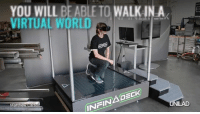 Dank, 🤖, and Virtualization: YOU WILL BE ABLE TO WALKIN A  WORLD  VIRTUAL INADECK  Matt  Cadel  INr LIKE UNILAD Tech for more!