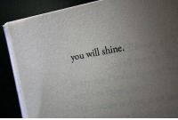 Will, You, and Shine: you will shine