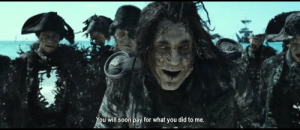 When I see that u/abca98 has posted a potc meme that has more upvotes than mine: You will soon pay for what you did to me. When I see that u/abca98 has posted a potc meme that has more upvotes than mine