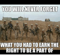 My squad and I in Sangin, Afghanistan 🇺🇸💪: YOU WILLNEVER FORGET  WHAT YOU HAD TO EARN THE  RIGHTTO BEA PART OF My squad and I in Sangin, Afghanistan 🇺🇸💪
