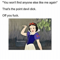 """Memes, 🤖, and My Girl: """"You won't find anyone else like me again""""  That's the point devil dick.  Off you fuck.  ONorthWitch69 Run along cunt face 👋🏼 Get FOLLOWING my girl @northwitch69 @northwitch69 @northwitch69 @northwitch69 @northwitch69 northwitch69 fabsquad goodgirlwithbadthoughts 💅🏻"""