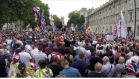 "cnn.com, Love, and London: You won't see this on the BBC or CNN: Thousands in London shout ""We love Trump"""