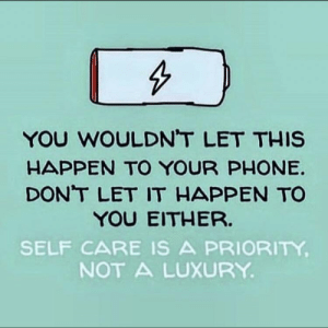 Memes, Phone, and 🤖: YOU WOULDN'T LET THIS  HAPPEN TO YOUR PHONE.  DONT LET IT HAPPEN TO  YOU EITHER.  SELF CARE IS A PRIORITY  NOT A LUXURY https://t.co/YyuHpGHHyX