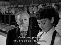 Memes, Http, and Old: You young people  you are so old-fashioned Sabrina (1954)  Download our app here: http://bit.ly/movquotes