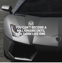 Goals, Huh, and Life: YOUCAN'T BECOME A  MILLIONAIRE UNTIL  YOUTHINK LIKE ONE. So you wanna become a millionaire and change your life, huh?🤔 To make it simple for you to understand… To change your life, you have to change yourself. To change yourself you have to change your damn mindset. MINDSET is everything. mindset goals millionaire millionairementor