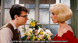 Target, Tumblr, and Blog: You'd be seen with me in a public place like a department store? neillblomkamp:Little Shop of Horrors (1986) Directed by Frank Oz