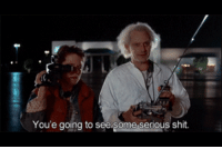 Shit, Human, and Doc: You'e going to see some serious shit Early human trials of Doc Brown