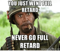 MRW Apple announced they removed the 3.5mm headphone jack: YOUJUST WENT FULL  RETARD  NEVER GO FULL  RETARD  memegenerator.net MRW Apple announced they removed the 3.5mm headphone jack