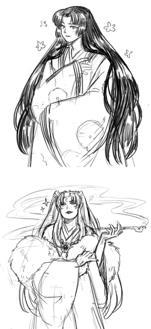 youkaiyume: Sesshomaru's Mom is my favorite. Diva Queen. I hope to have her appear in my doujin again in the future. : youkaiyume: Sesshomaru's Mom is my favorite. Diva Queen. I hope to have her appear in my doujin again in the future.