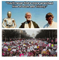 Conservative, Hive, and Hives: You'll never find a more wretched  hive of scum and villainy  WE MAT NOT  THE TIM Cause I'm not done giving feminists shit for this womensmarch feminismiscancer inauguration liberals libbys democraps liberallogic liberal ccw247 conservative constitution presidenttrump nobama stupidliberals merica america stupiddemocrats donaldtrump trump2016 patriot trump yeeyee presidentdonaldtrump draintheswamp makeamericagreatagain trumptrain maga Add me on Snapchat and get to know me. Don't be a stranger: thetypicallibby Partners: @tomorrowsconservatives 🇺🇸 @too_savage_for_democrats 🐍 @thelastgreatstand 🇺🇸 @always.right 🐘 TURN ON POST NOTIFICATIONS! Make sure to check out our joint Facebook - Right Wing Savages Joint Instagram - @rightwingsavages Joint Twitter - @wethreesavages Follow my backup page: @the_typical_liberal_backup