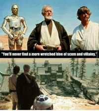 "Don't ""oof"" the meme!: ""You'll never find a more wretched hive of scum and villainy.""2 Don't ""oof"" the meme!"