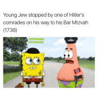 Young Jew stopped by one of Hitler's  comrades on his way to his Bar Mtzvah  (1738)  LIT SAVAGee HITLER BUGGIN B - - - - - -FOLLOW ➡️@ATLSAVAGEE ⬅️ FOR MORE FUNNY POSTS DAILY🔥🔥🔥🔥🔥🔥😤😤😤😤😤 - -LIKE COMMENT AND SHARE!! - - - ••••••••••••••••••••••••••••••••• funny lol lmao lmfao memes laugh nochill offensive comedy joke jokes savage kanyewest mileycyrus eminem followforfollow lilyachty yeezys justinbieber selenagonez dope lit girls bae dank dankmemes love instagram edgy hood •••••••••••••••••••••••••••••••••