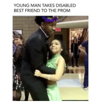 PressPlay: Tahj Oliver treating his best friend to a memorable prom date! He has a bright future ahead of him! Wonderful 💕: YOUNG MAN TAKES DISABLED  BEST FRIEND TO THE PROM PressPlay: Tahj Oliver treating his best friend to a memorable prom date! He has a bright future ahead of him! Wonderful 💕