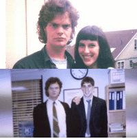 Young Rainn Wilson and young Dwight Schrute.: Young Rainn Wilson and young Dwight Schrute.