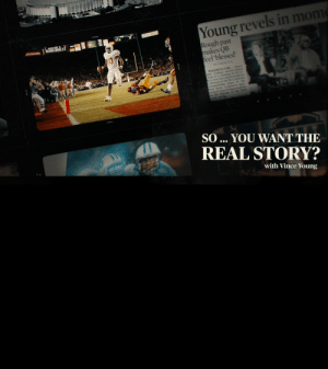 He was a Rose Bowl champion, thrust into the spotlight. Just a kid from Texas, trying to figure out life on the go, with every choice analyzed under the media's microscope.   This is what was actually going on. This is the real @vinceyoung10.  🎥: https://t.co/ciYIIlX4WF https://t.co/Prp6zw0bVN: Young revels in mome  Rough past  makes QB  feel blessed  SOWE  BONDA  RALTIMOE SEN  PASADENA, Calif.-Hours  after leading second ranked  Texas etbern  ory over  California in the BCS natiwnal  championship  Rose Bowt ne  41-38vic-  at the  quar  Vince Y  tehe halcony of his hotel  room, crytng  SO ... YOU WANT THE  REAL STORY?  with Vince Young He was a Rose Bowl champion, thrust into the spotlight. Just a kid from Texas, trying to figure out life on the go, with every choice analyzed under the media's microscope.   This is what was actually going on. This is the real @vinceyoung10.  🎥: https://t.co/ciYIIlX4WF https://t.co/Prp6zw0bVN