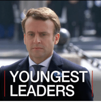 Memes, France, and Paris: YOUNGEST  LEADERS 8 MAY: Thirty-nine-year-old Emmanuel Macron is the youngest president France has ever had. He has broken the 170-year-old record held by Louis-Napoleon Bonaparte who came to power at the age of 40 in 1848. We look at where he comes in the list of the youngest leaders currently in power around the world. Read more: bbc.in-macron EmmanuelMacron France YoungLeaders PrimeMinister FranceElections Elections FrenchPresident Paris France @EmmanuelMacron BBCShorts BBCNews @BBCNews