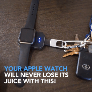 Apple, Apple Watch, and Bad: YOUR APPLE WATCH  WILL NEVER LOSE ITS  JUICE WITH THIS! Just click the link in the description for this bad boy!