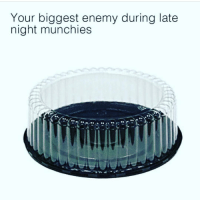 Memes, Munchies, and Best: Your biggest enemy during late  night munchies Follow @stonerjoke for the best stoner content on IG!