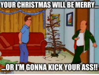 "The Grinch, Memes, and 🤖: YOUR CHRISTMAS WILLBEMERRY..  ORITM GONNA KICK YOURASS!!  ing flip.com Every Christmas there's always ""that"" person... Tag the Grinch of your family."