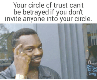 "Dank, Meme, and Strong: Your circle of trust can't  be betrayed if you don't  invite anyone into your circle.  Peni  Mon  ri <p>My circle is still going strong via /r/dank_meme <a href=""https://ift.tt/2GytAGV"">https://ift.tt/2GytAGV</a></p>"