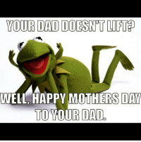 😂 . @officialdoyoueven 👈: YOUR DAD DOESENTLIFT  WELL HAPPY MOTHERS DAY  TO YOUR DAD 😂 . @officialdoyoueven 👈