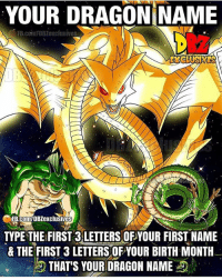 """PC: @dbz_exclusives - """"Care what others think, you'll be a slave to their opinions."""": YOUR DRAGON NAME  EXCLUSIVES  IFB.com/DBZexclusives  TYPE THE FIRST 3 LETTERS OF YOUR FIRST NAME  & THE FIRST 3 LETTERSOFYOUR BIRTH MONTH  THAT'S YOUR DRAGON NAME PC: @dbz_exclusives - """"Care what others think, you'll be a slave to their opinions."""""""