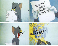 Batman, Memes, and Amazing: Your FPL  team  looks  amazing!  GW New season, same old FPL story (📷: @FPL_Batman ) https://t.co/JxHDW0aTJP