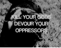 God, Devour, and Your: YOUR GOD  DEVOUR YQU  OPPRESSO