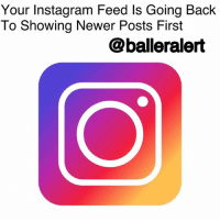 """Your Instagram Feed Is Going Back To Showing Newer Posts First -blogged by @theRealAlexisDanielle ⠀⠀⠀⠀⠀⠀⠀ ⠀⠀⠀⠀⠀⠀⠀ Remember when your Instagram used to show pictures and videos in chronological order and you weren't seeing day old posts at the top of your feed? Well, the app we all love is apparently gearing up to get back to that. ⠀⠀⠀⠀⠀⠀⠀ ⠀⠀⠀⠀⠀⠀⠀ It's no secret that many of its users weren't too fond of Instagram's change in algorithm, which began back in 2016. ⠀⠀⠀⠀⠀⠀⠀ ⠀⠀⠀⠀⠀⠀⠀ Now, in a press release shared Thursday, the app announced plans to keep your feeds """"more fresh,"""" ensuring that you don't miss newer posts. ⠀⠀⠀⠀⠀⠀⠀ ⠀⠀⠀⠀⠀⠀⠀ """"Based on your feedback, we're also making changes to ensure that newer posts are more likely to appear first in the feed,"""" the statement released to Instagram-press.com read. """"With these changes, your feed will feel more fresh, and you won't miss the moments you care about. So if your best friend shares a selfie from her vacation in Australia, it will be waiting for you when you wake up."""" ⠀⠀⠀⠀⠀⠀⠀ ⠀⠀⠀⠀⠀⠀⠀ IG also announced a new """"refresh feed"""" button that will keep your feed from automatically updating when it's refreshed. Yes, that means you'll stop losing your place after you've been scrolling for five minutes. ⠀⠀⠀⠀⠀⠀⠀ ⠀⠀⠀⠀⠀⠀⠀ Instagram says they'll continue to implement changes over the next few months in an effort to improve users' experiences. Thoughts?: Your Instagram Feed Is Going Back  To Showing Newer Posts First  @balleralert Your Instagram Feed Is Going Back To Showing Newer Posts First -blogged by @theRealAlexisDanielle ⠀⠀⠀⠀⠀⠀⠀ ⠀⠀⠀⠀⠀⠀⠀ Remember when your Instagram used to show pictures and videos in chronological order and you weren't seeing day old posts at the top of your feed? Well, the app we all love is apparently gearing up to get back to that. ⠀⠀⠀⠀⠀⠀⠀ ⠀⠀⠀⠀⠀⠀⠀ It's no secret that many of its users weren't too fond of Instagram's change in algorithm, which began back in 2016. ⠀⠀⠀⠀⠀⠀⠀ ⠀⠀⠀⠀⠀⠀⠀ Now, in a press release shared T"""