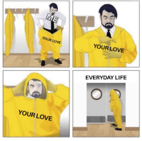 """Life, Love, and Via: YOUR LOVE  YOUR LOVE  EVERYDAY LIFE  YOUR LOVE <p>The protection I need via /r/wholesomememes <a href=""""https://ift.tt/2EHvhjD"""">https://ift.tt/2EHvhjD</a></p>"""